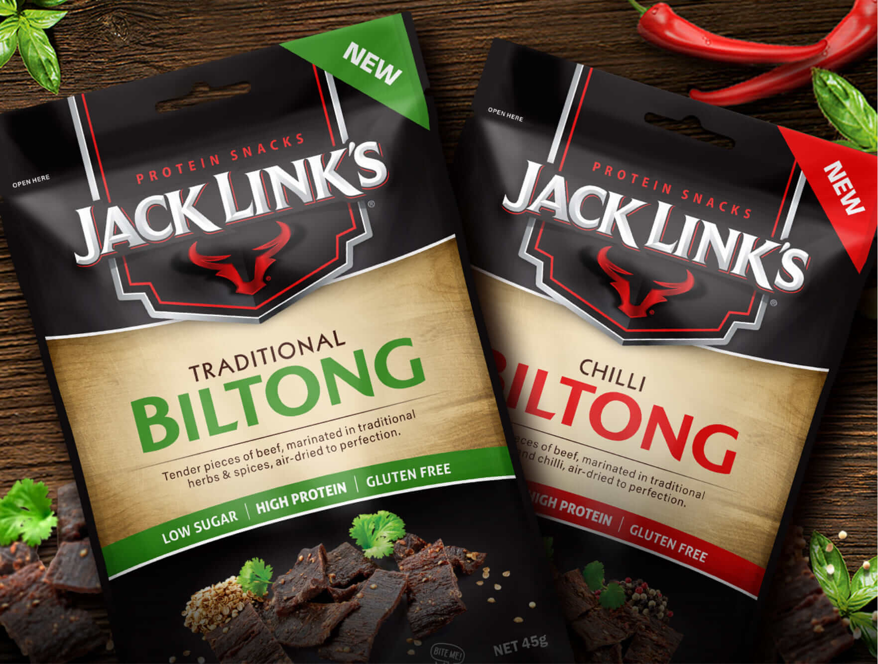 FMCG Marketing for Jack Link's Biltong - Three Scoops